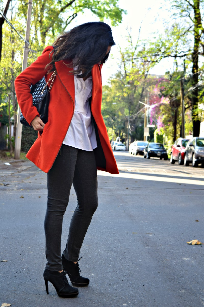 Christmas Season in a Red Coat