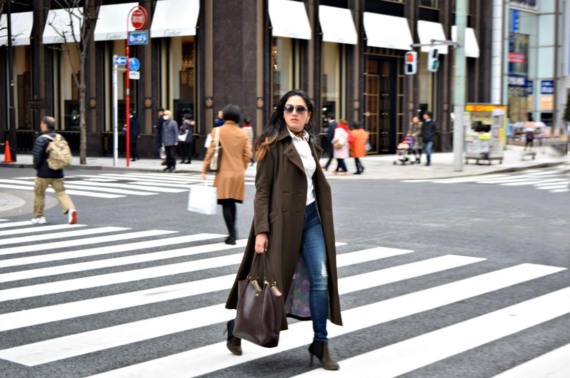 Tokyo military long coat