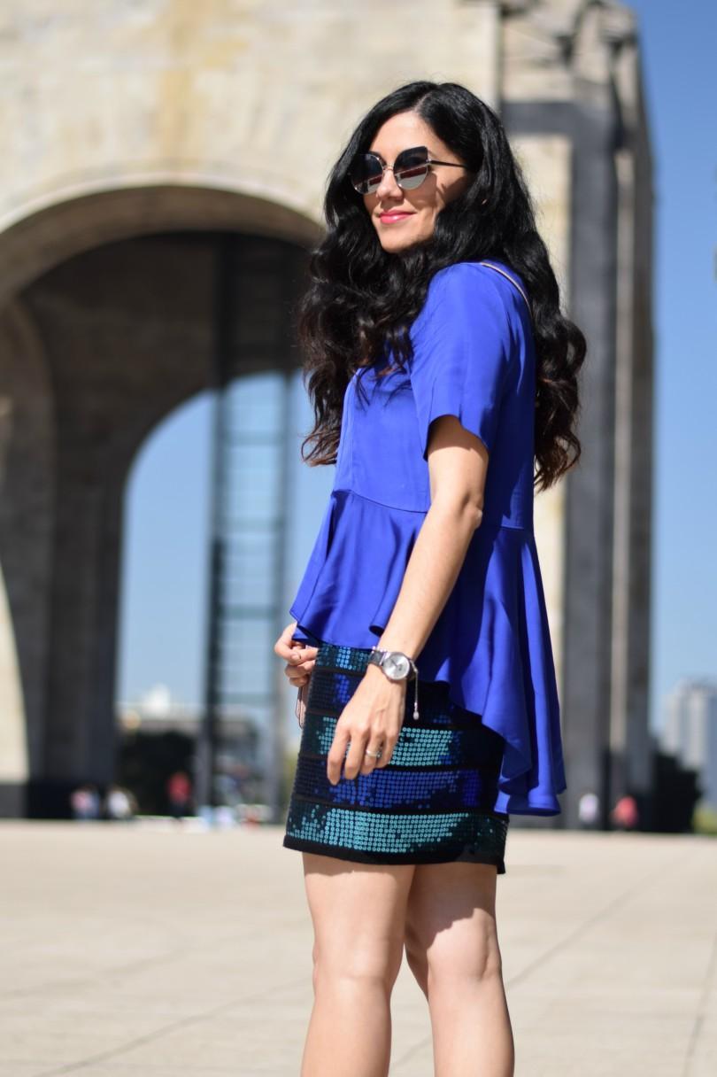 Sequin dress twist Lula vibes