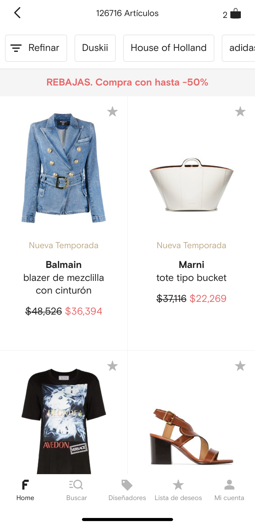 Farfetch Sales