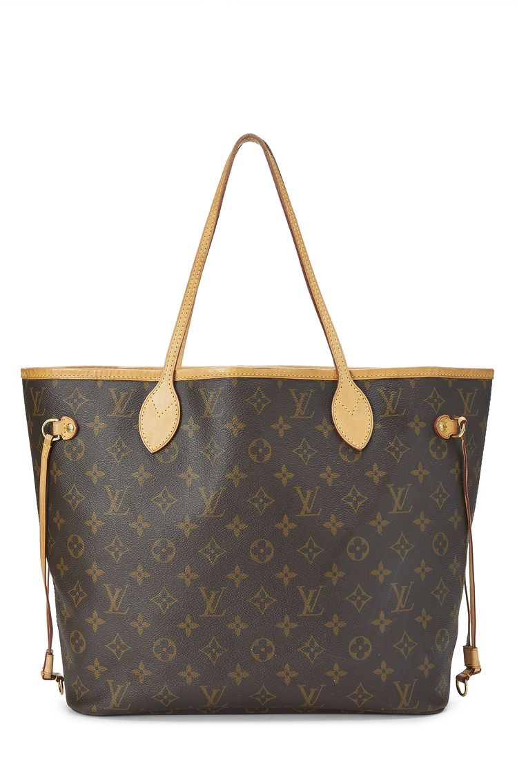 louis vouitton never full tote