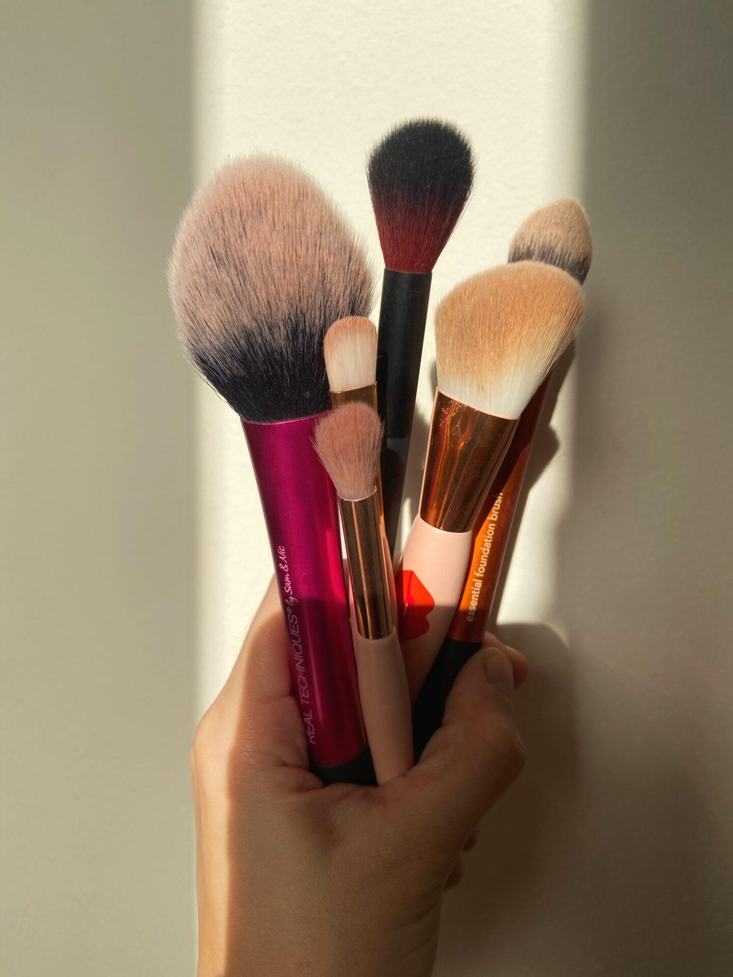 Para qué sirve cada brocha de maquillaje?